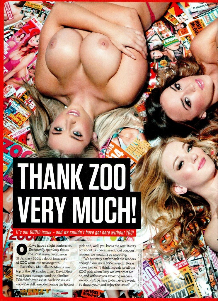 Rosie Jones, Melissa Debling & Bethany Lily Topless (15 Photos)