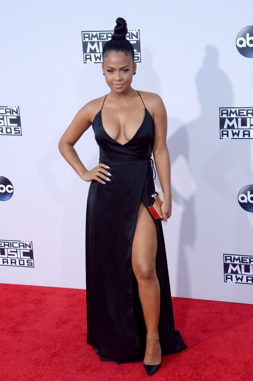 Revealing And Exploring Meaning In The Tarot: Christina Milian Cleavage (39 Photos)