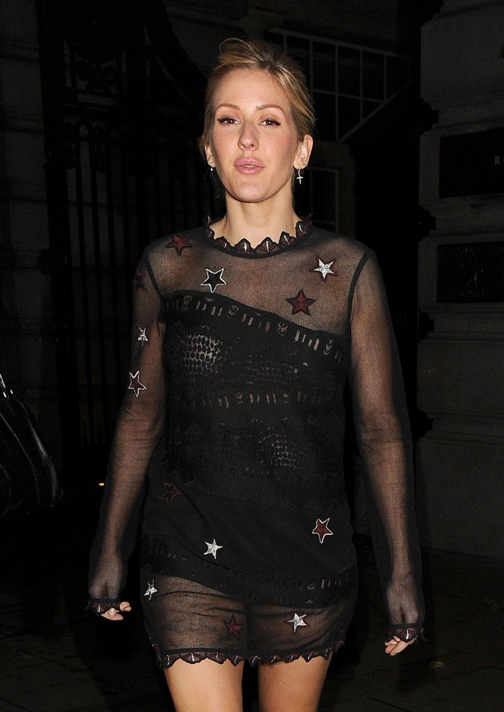 Ellie Goulding See Through (33 Photos) | #TheFappening