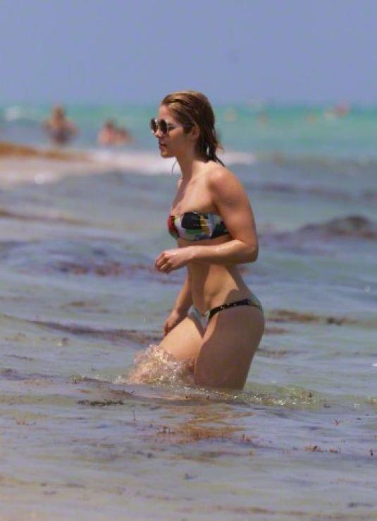 Emily Bett Rickards in a Bikini (15 Photos)