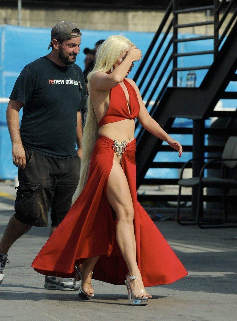 Lady Gaga Panties (11 Photos)