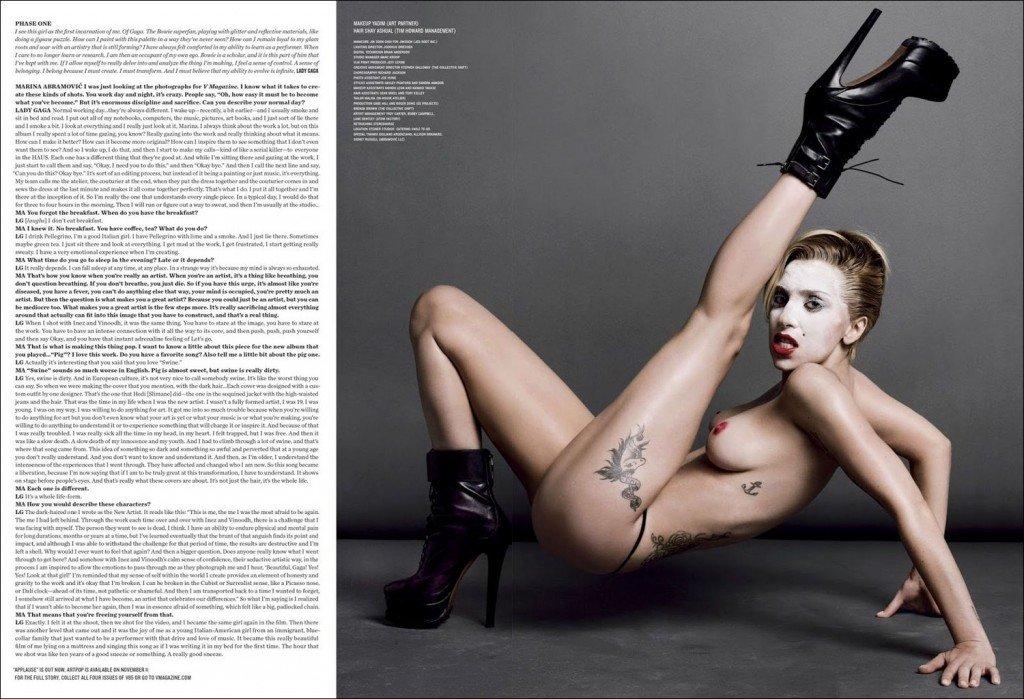 Lady Gaga Topless (9 Photos)