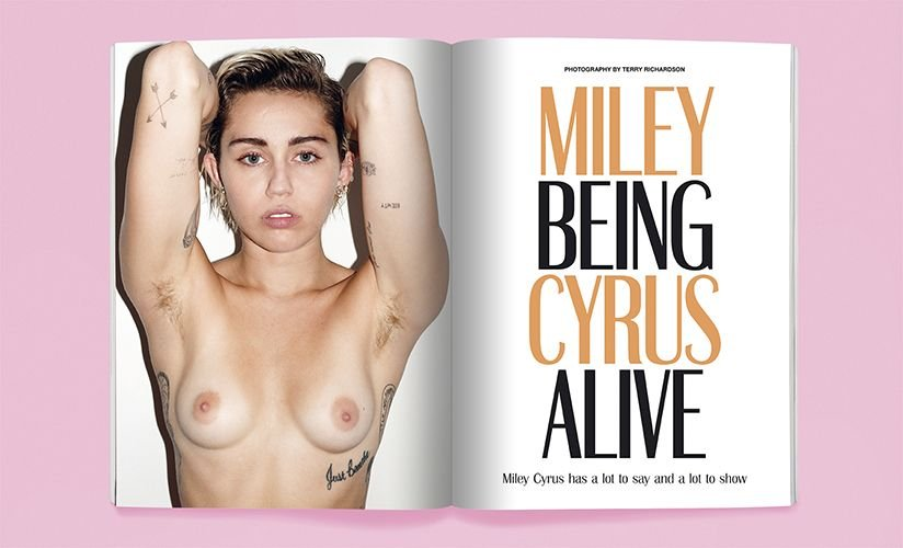 Miley Cyrus Full Naked