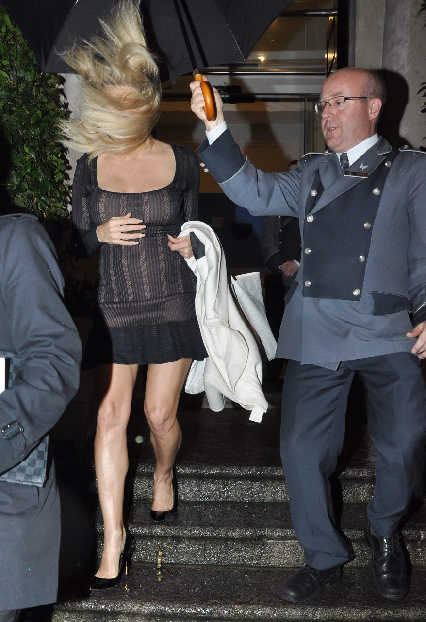 Believe, that Pamela anderson see through this rather