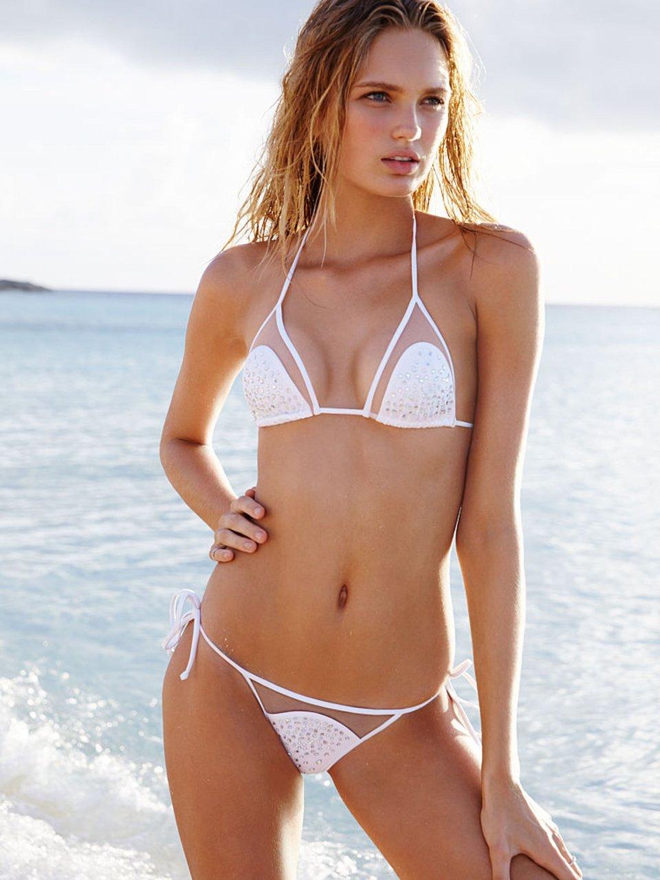 Mesh bikini beach