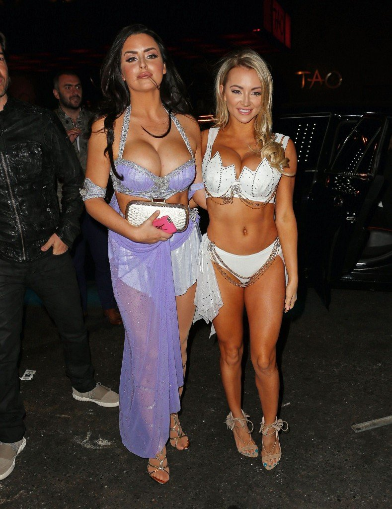 Abigail-Ratchford-and-Lindsey-Pelas-Sexy-19