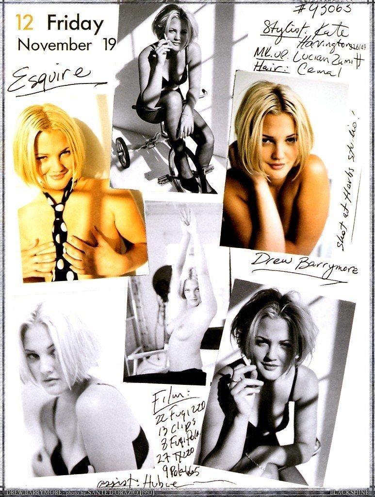 Drew Barrymore Nude (8 Photos)