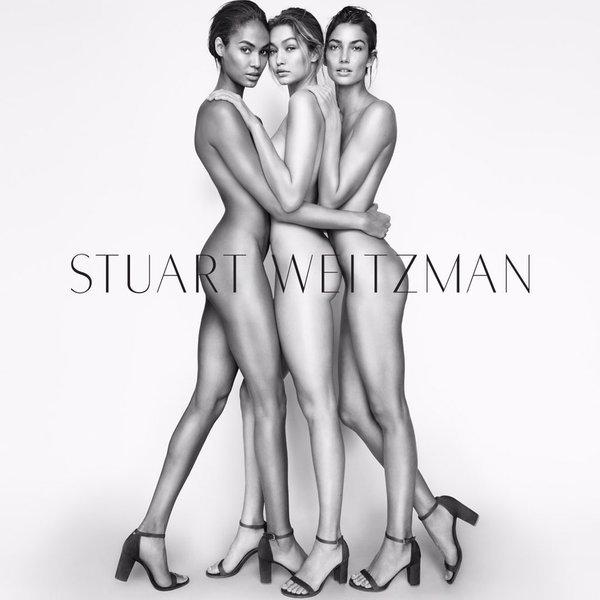 Gigi Hadid, Joan Smalls and Lily Aldridge Nude (1 Photo)