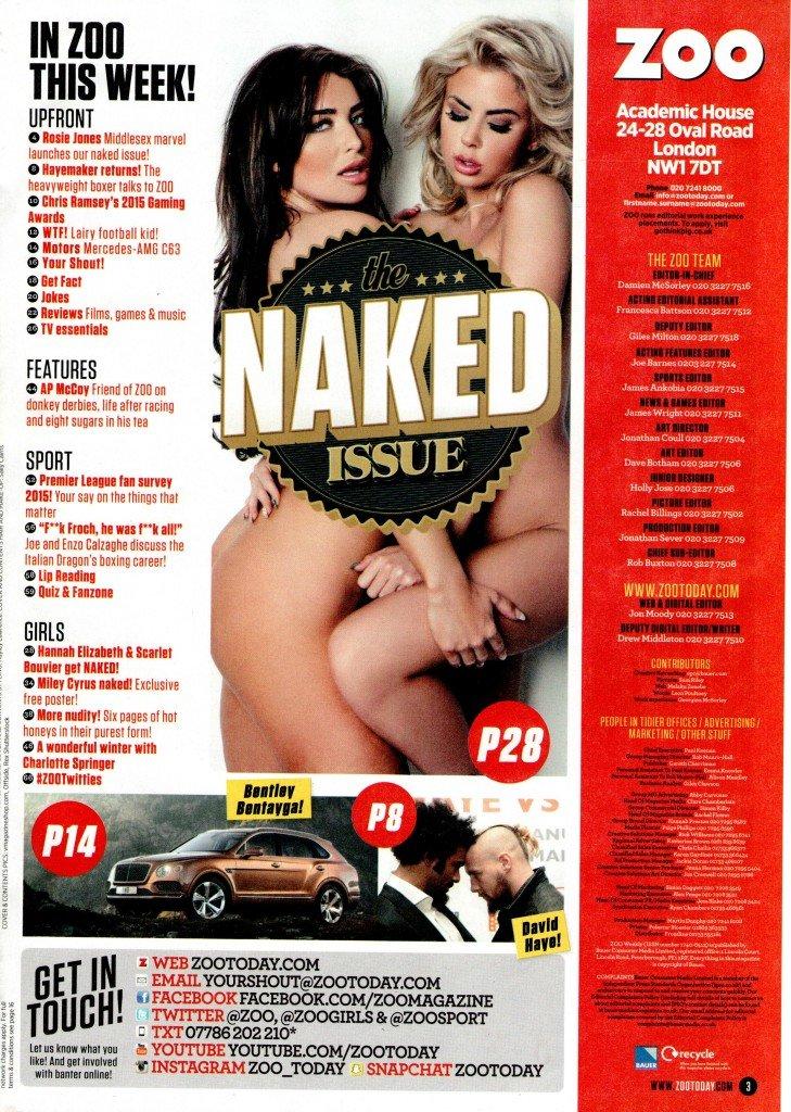 Hannah Elizabeth & Scarlet Bouvier Nude (9 Photos)
