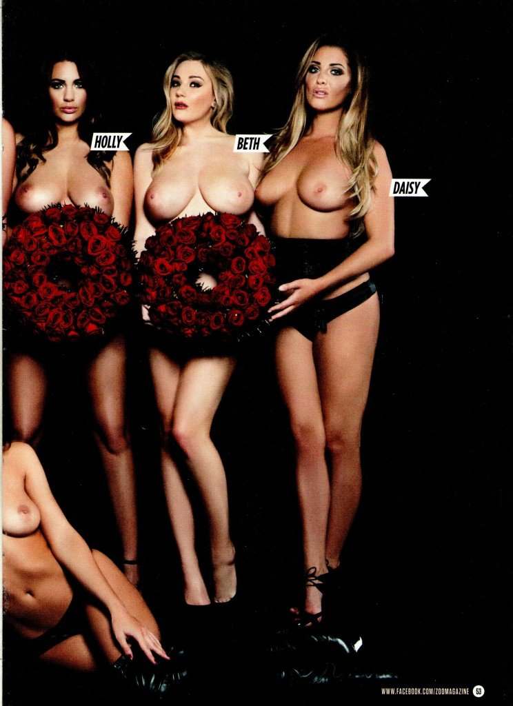 Rosie Jones & Friends Topless (18 Photos)