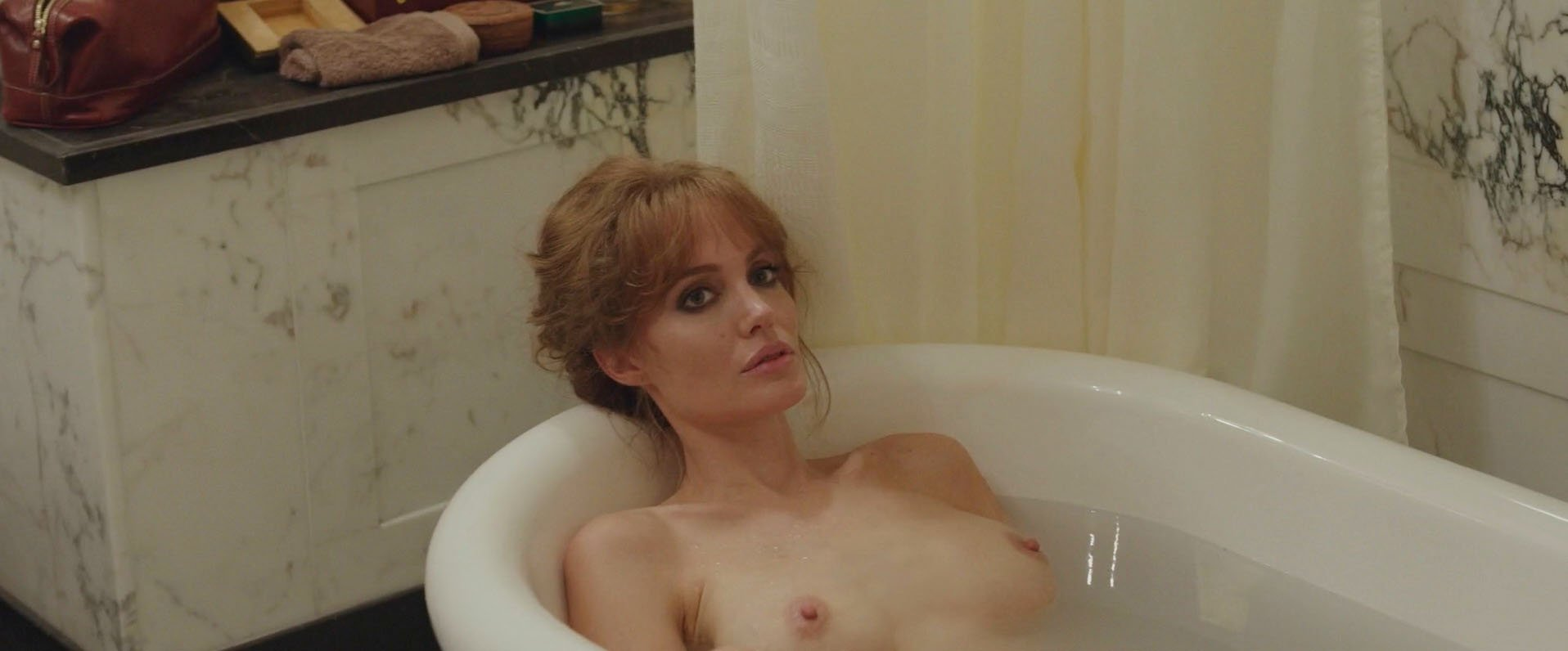 angelina jolie first nude movie