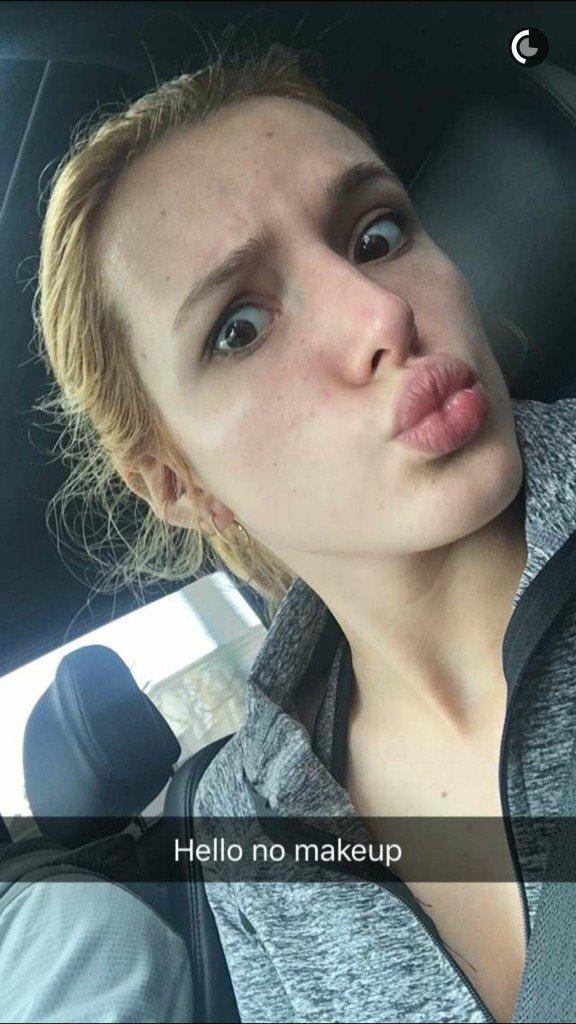 Bella Thorne Cleavage (2 New Photos)