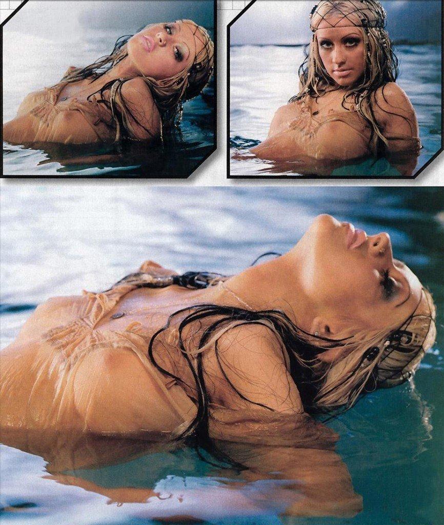 Christina-Aguilera-Topless-34