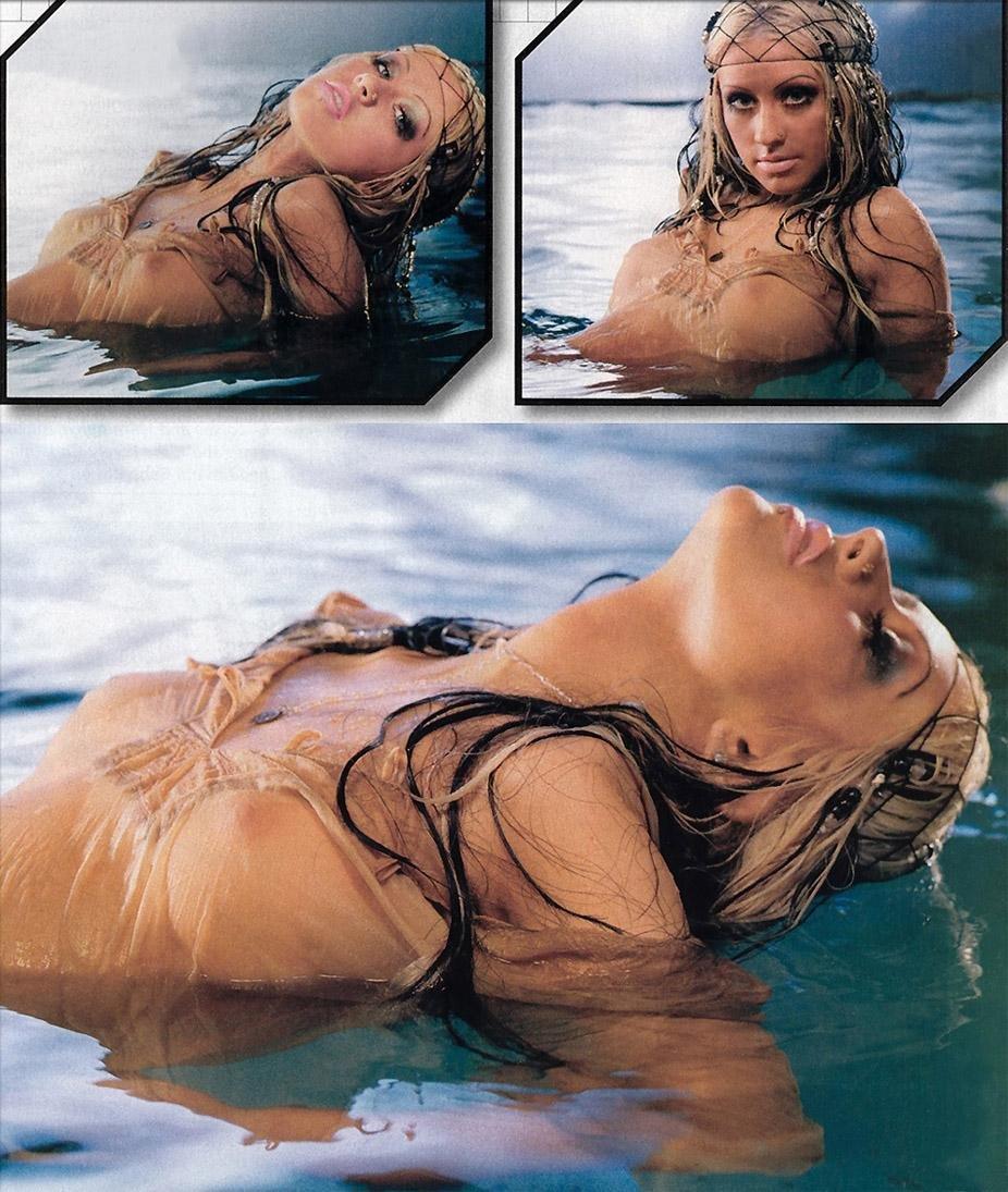 Aguilera naked leaked