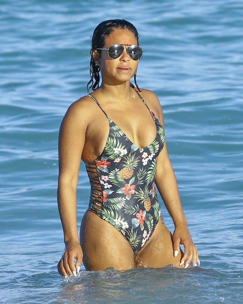 Christina moore bikini