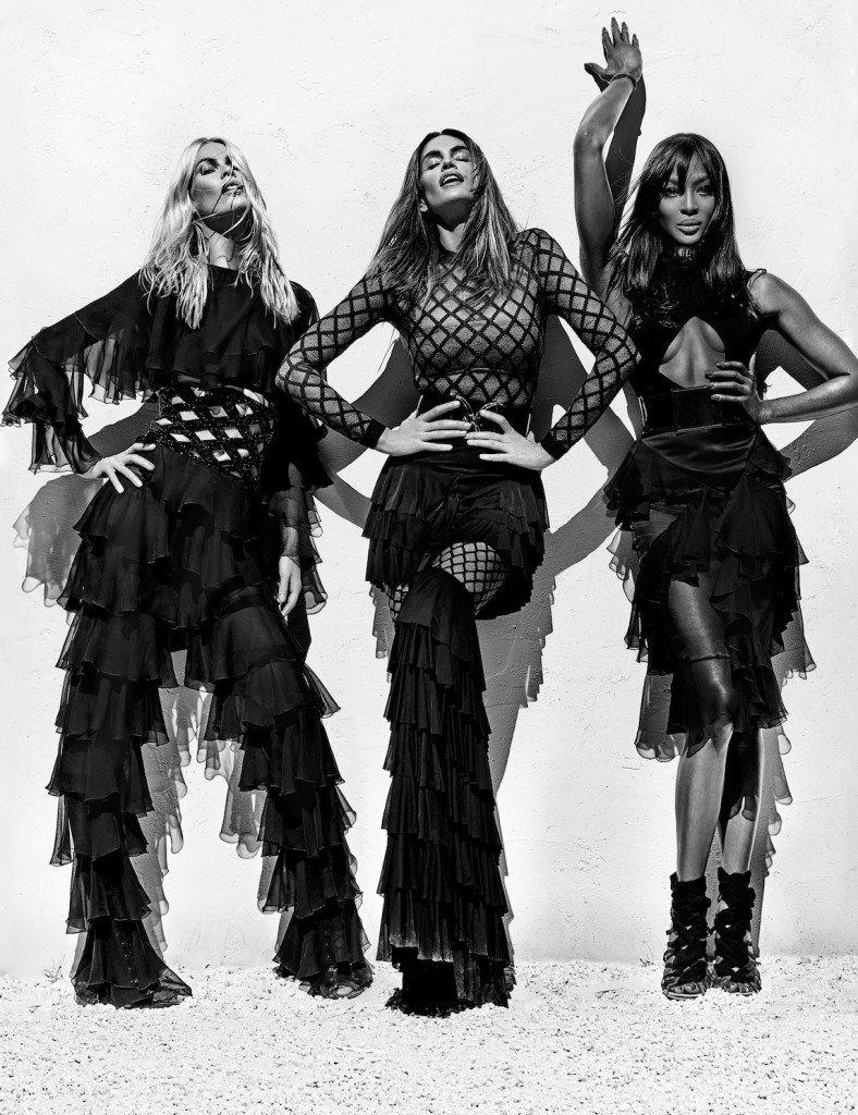 Claudia Schiffer, Cindy Crawford & Naomi Campbell Sexy (10 Photos)