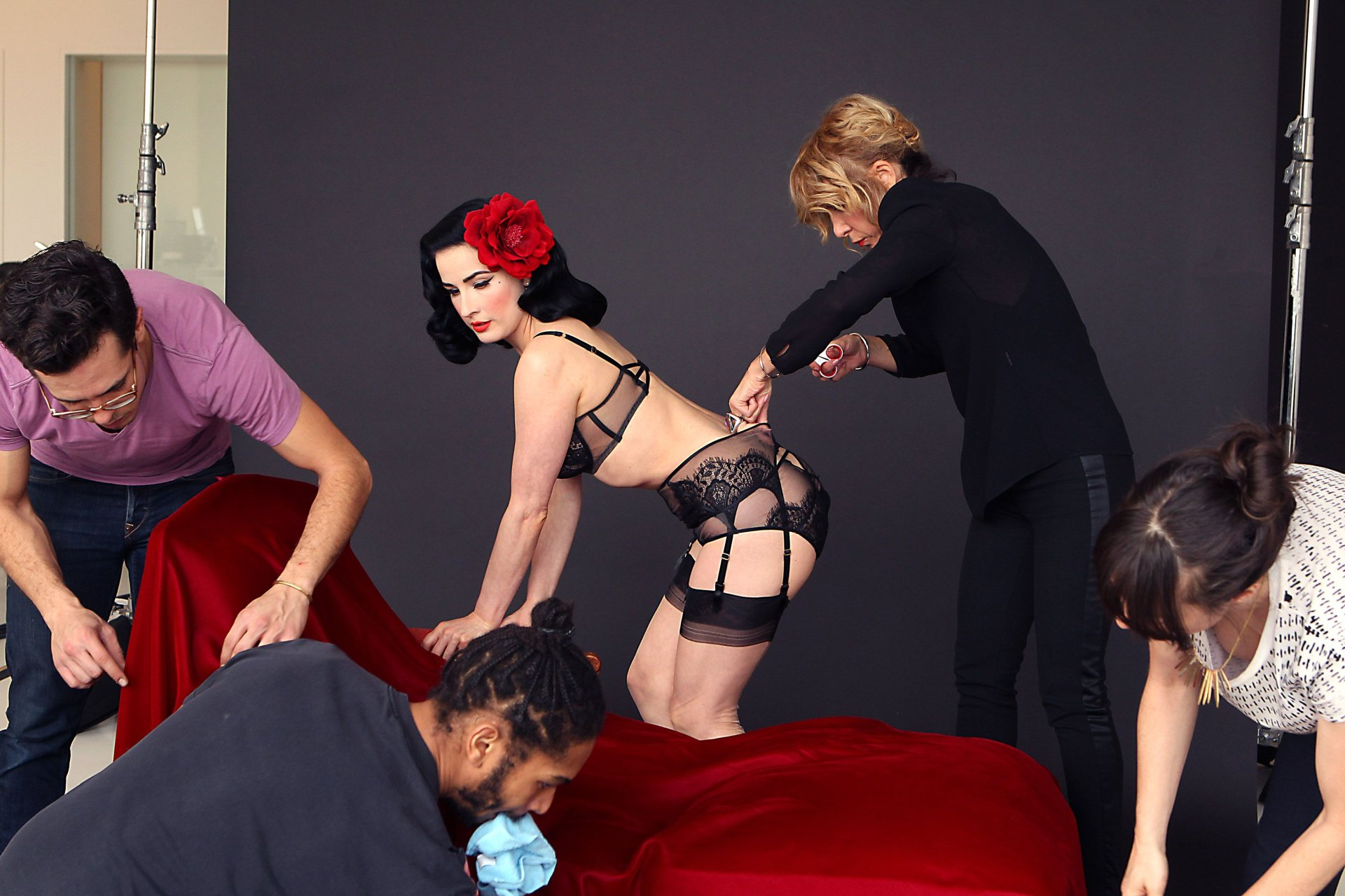 Dita von teese nude pictures at