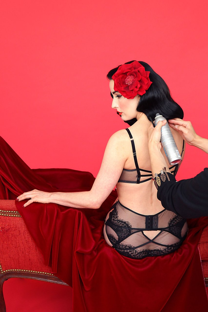 Dita von teese sex creampie eating