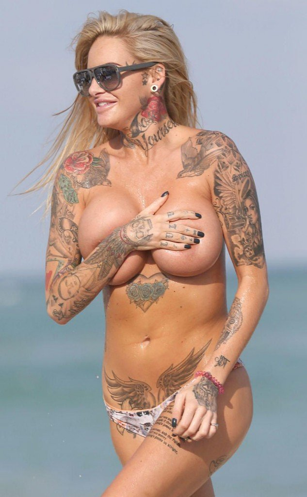 Jemma Lucy Sexy & Topless (18 Photos)