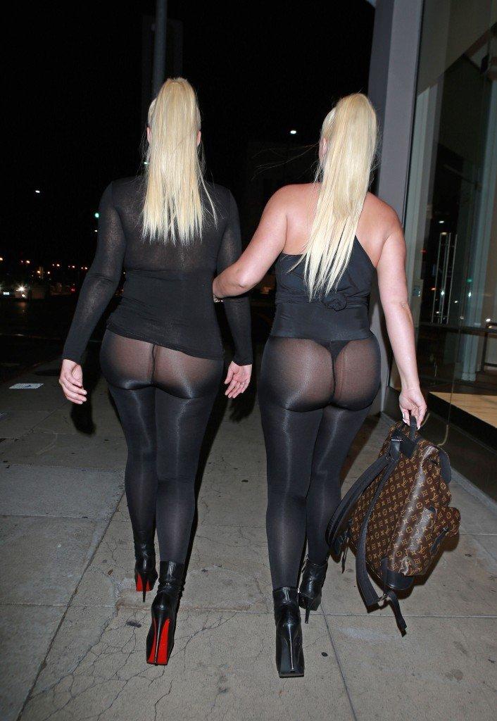 Kristina and Karissa Shannon See Through (39 Photos)