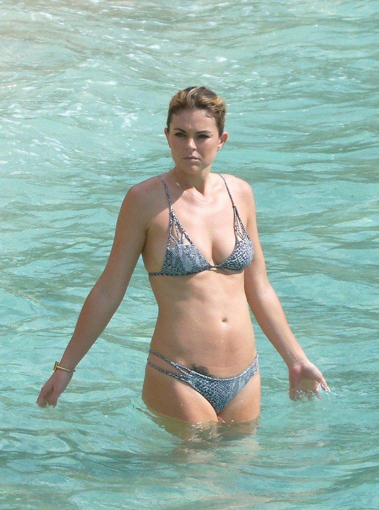 Sexy bikini beach