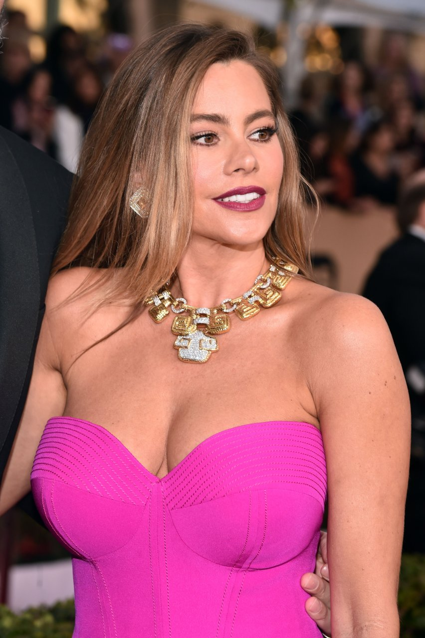 Sofia Vergara Has Big Boob Problems Too