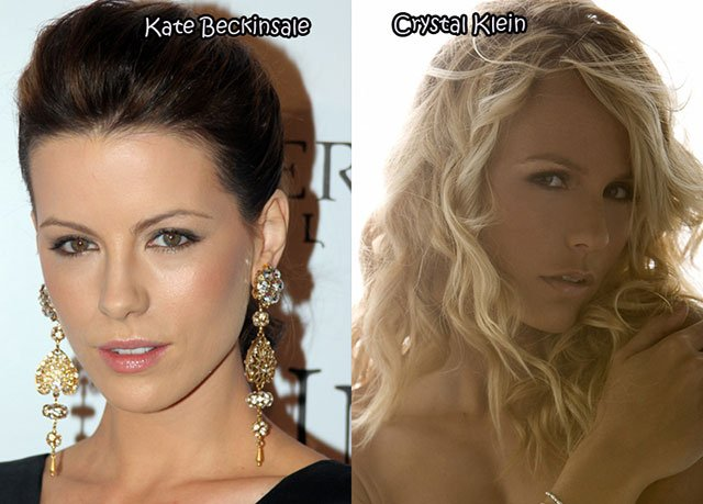 25.Kate Beckinsale Crystal Klein