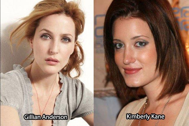 33.Gillian Anderson Kimberly Kane