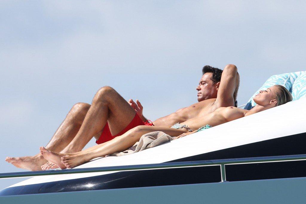 Joanna Krupa in a Bikini Topless1