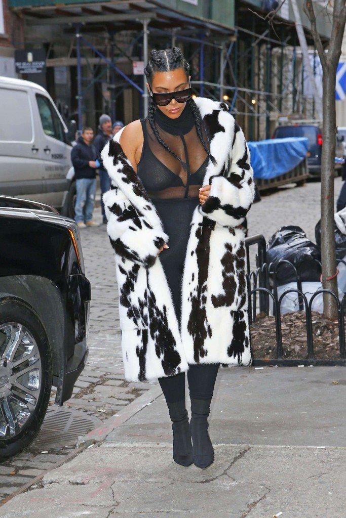 Kim Kardashian See Through (11 Photos)