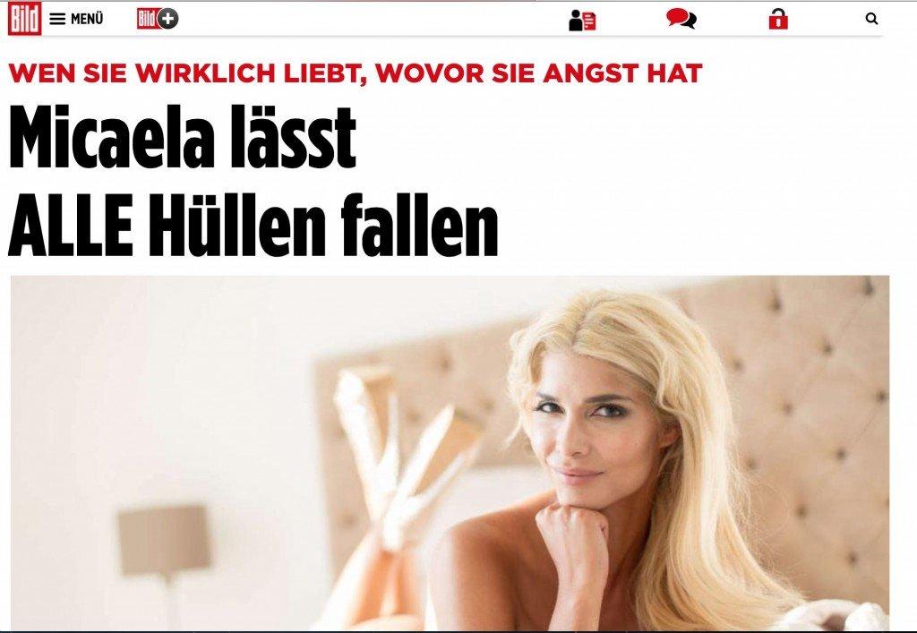 Micaela Schäfer Topless (5 Photos)