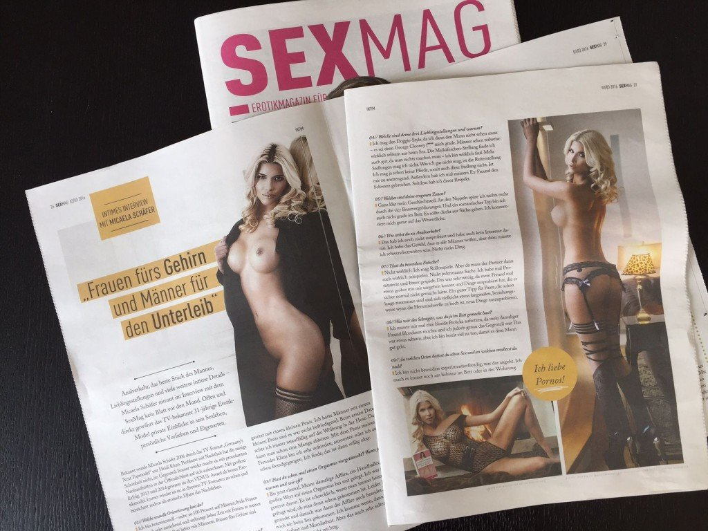 Micaela Schäfer Topless (8 Photos)