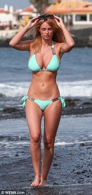 Rhian Sugden in a Bikini (10 Photos)