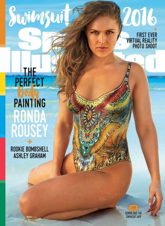 Topless Rounda Rousey Nude Pictures