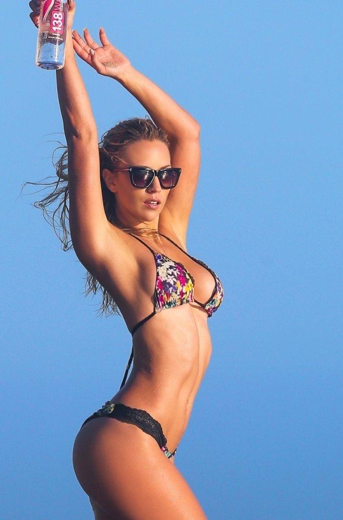 Ava Lange in a Bikini1