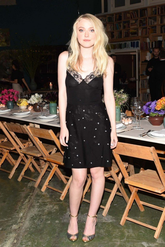 Dakota Fanning See Through 1