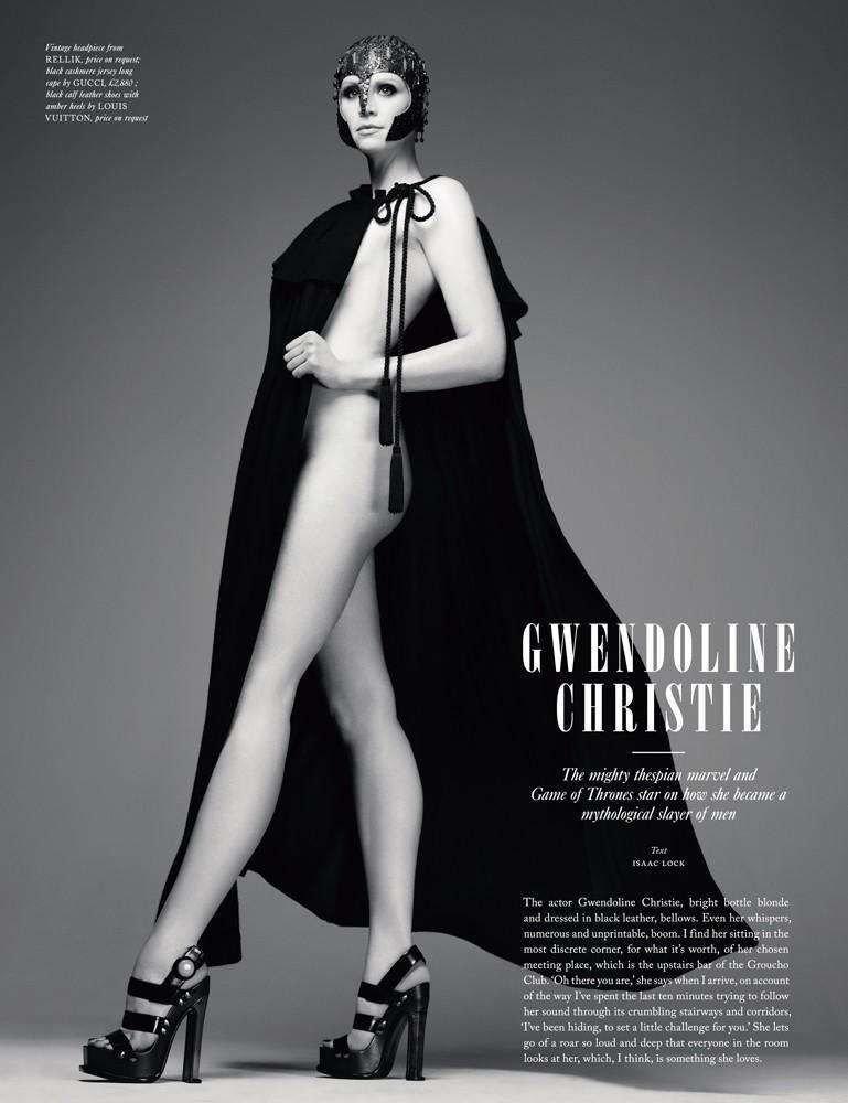 Gwendoline christie naked
