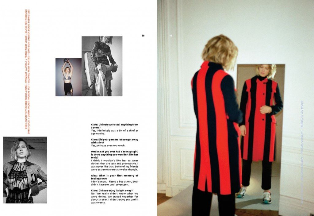 Lea Seydoux See Through (3 Photos)