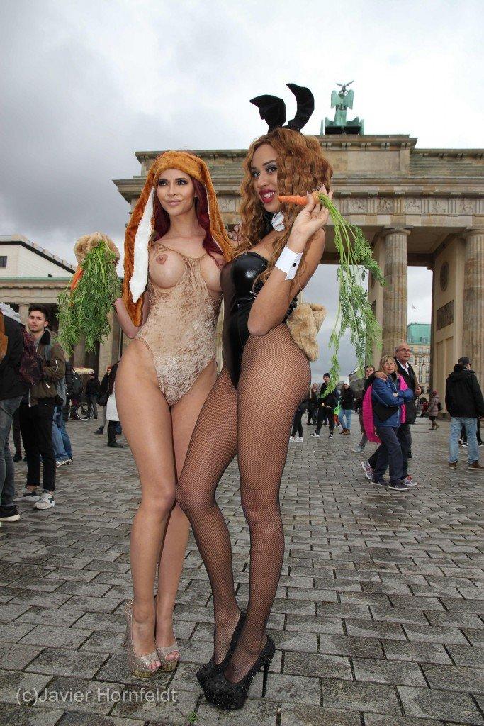 Micaela Schäfer Topless (15 Photos)