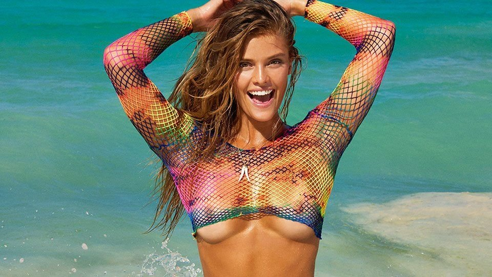 Nina Agdal See Through