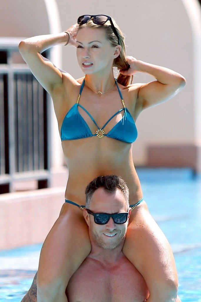 Ola Jordan in a Bikini (10 Photos)