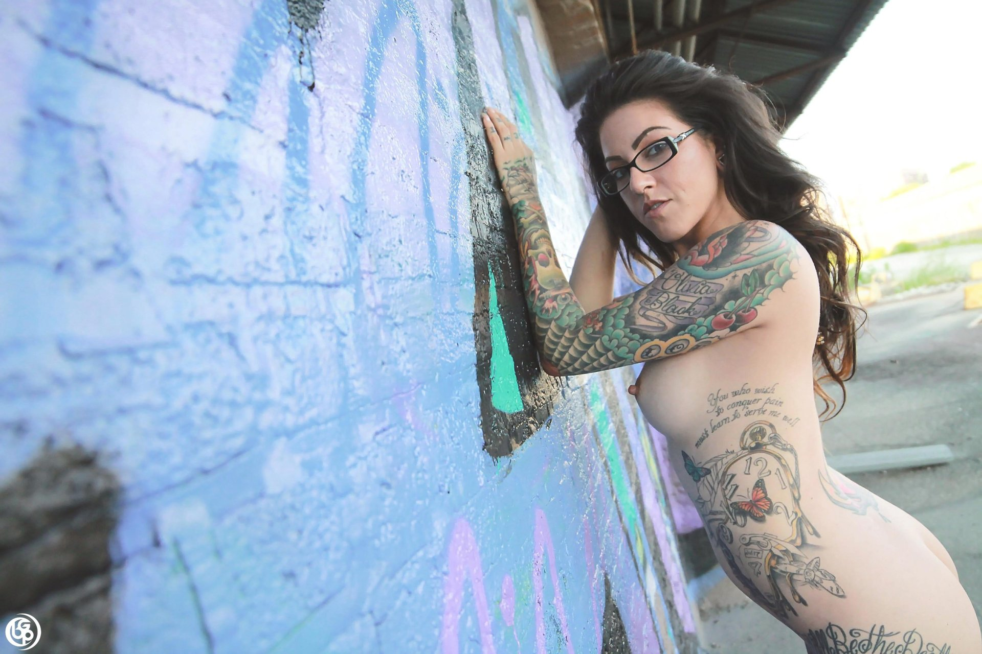 women with tattoos full body nude