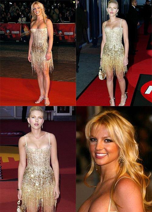 Britney Spears vs. Scarlett Johansson
