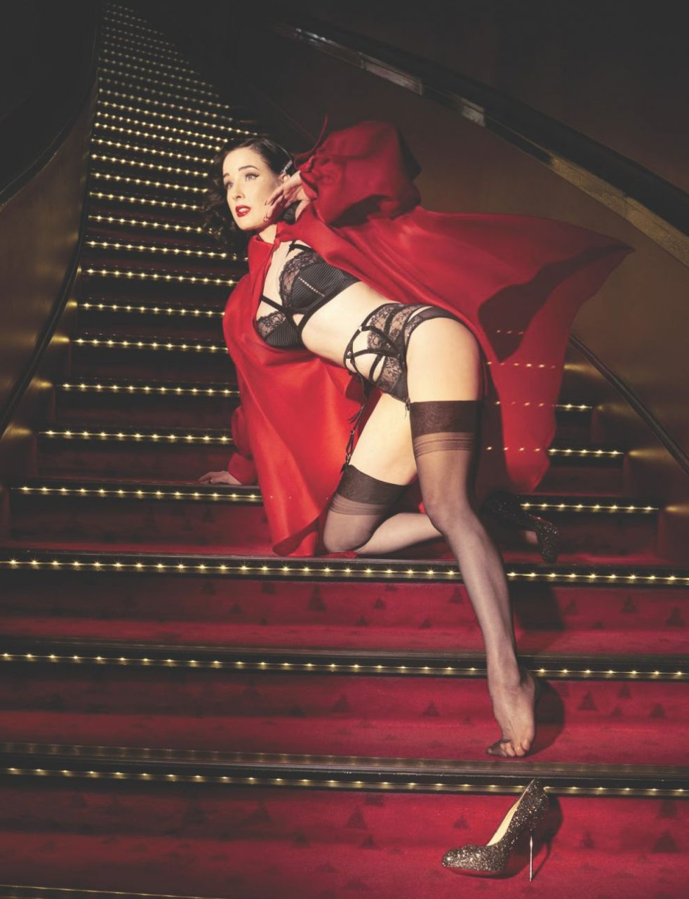 Dita Von Teese порно модель