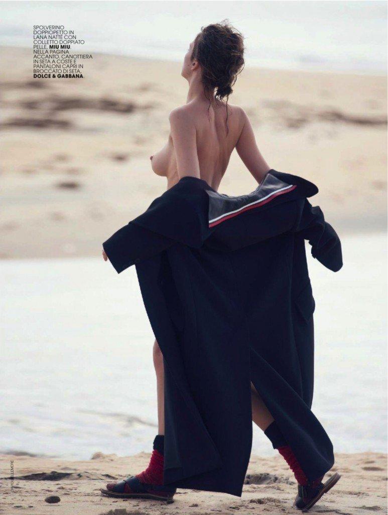 Eliza Cummings Topless