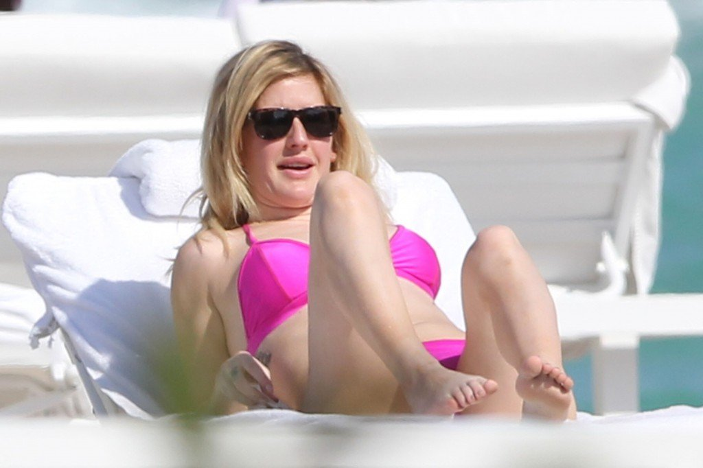 Ellie Goulding in a Bikini 8