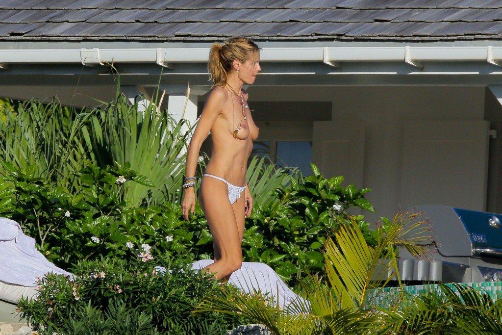 Heidi Klum Topless 11