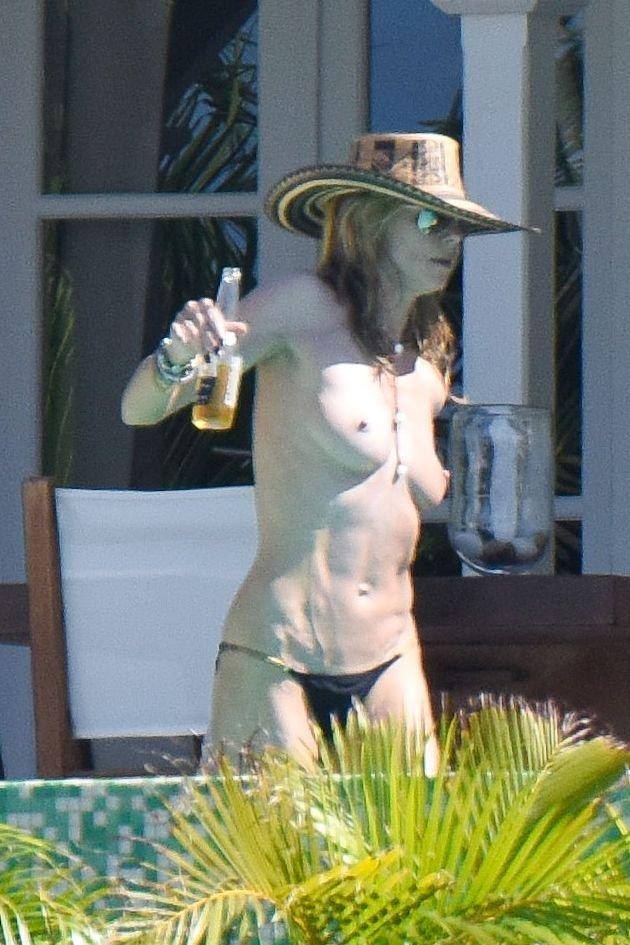 Heidi Klum Topless 19