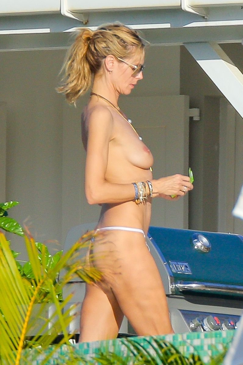 heidi klum topless photos