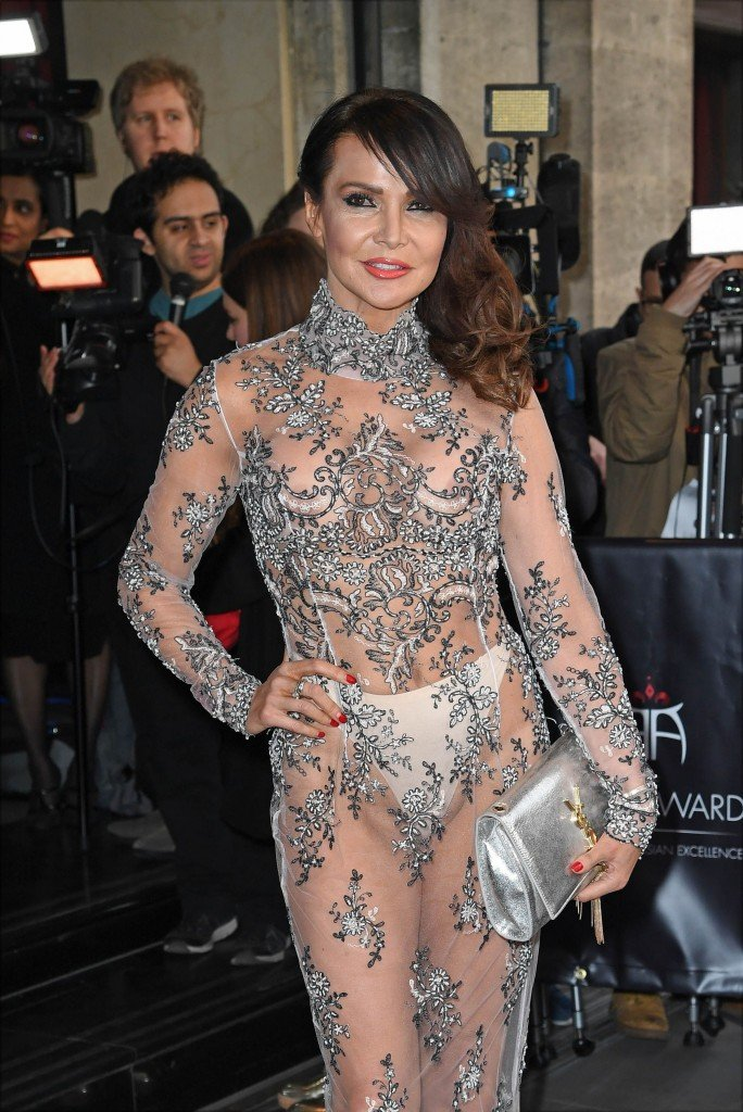 Lizzie Cundy See Through 2